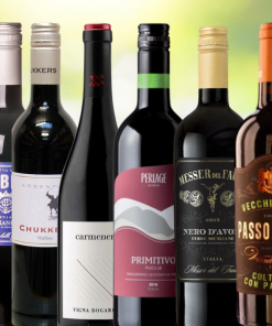 Mixed Tasting Case of 6 Red Wines from Wines With Stories
