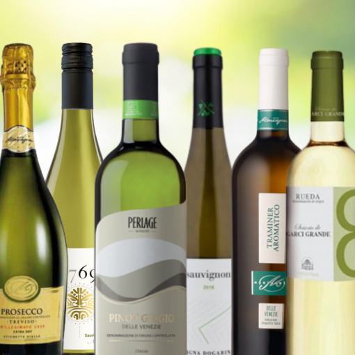 Mixed Case of White Artisan Wines from Wines With Stories