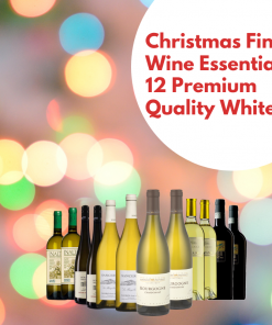 Christmas Fine Wine Essentials 12 Premium Quality Whites