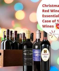 Christmas Red Wine Essentials Case of 12