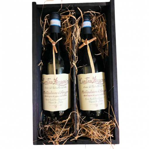 Twiggy Montepulciano d'Abruzzo 2 Bottles in Luxury Wooden Gift Box