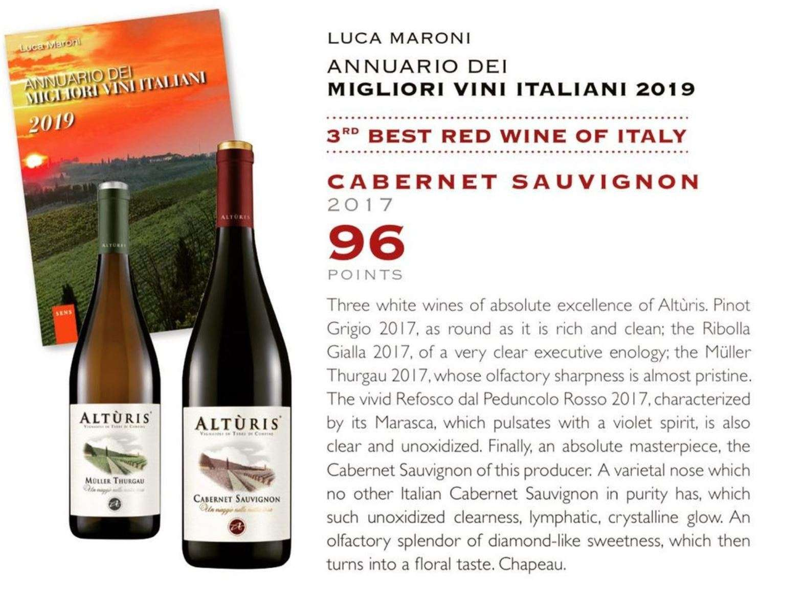Third Best Red Wine of Italy