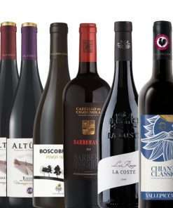 Mixed ase of 6 Red Wines