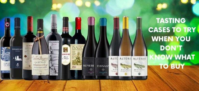 Tasting Cases of Artisan Wines